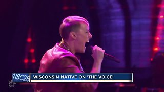 Wisconsin native on the voice
