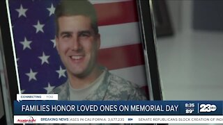 Families honor loved ones on Memorial Day