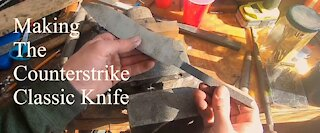Making The Counterstrike Source Knife- Part 1