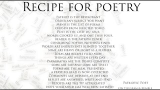 Recipe for Poetry