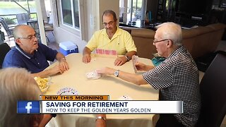 Start saving for retirement to keep your golden years golden