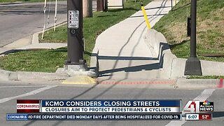 KC street closures possible to manage busy parks, sidewalks