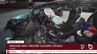 Wrong-way driver causes wreck on SR-125, leaves scene