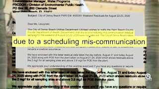 Delray Beach slapped with penalty for missing collection of water samples