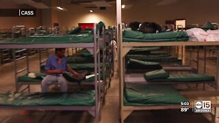 Multiple agencies come together to vaccinate the metro Phoenix homeless population