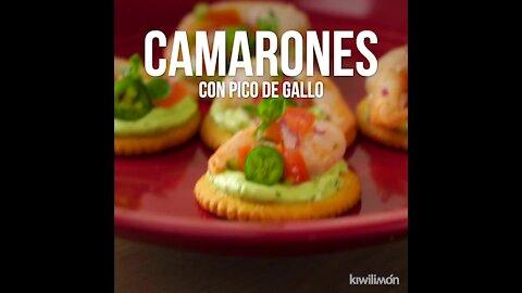 Pico de Gallo Shrimp Snack