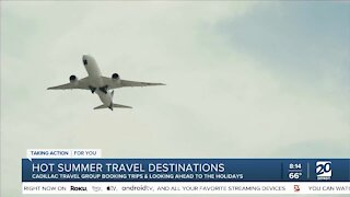 Hot summer trips with Cadillac Travel Group