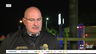 Chief Dugan gives update on wrong-way crash that killed officer