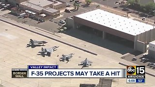 Will Luke Air Force Base pay a price for Trump's border wall?