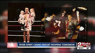 River Spirit reopening kicks off with fight night promoted by Dale 'Apollo' Cook