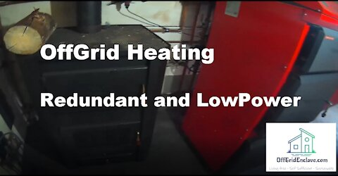 OffGrid Life. Redundant heating system that runs self sufficient 400m² house