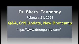 Dr Sherri Tenpenny Q&A C19 & Bootcamp Course Update