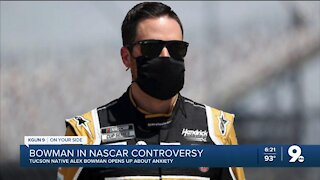 Alex Bowman opens up about anxiety