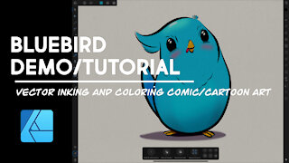 Bluebird Demo - Affinity Designer