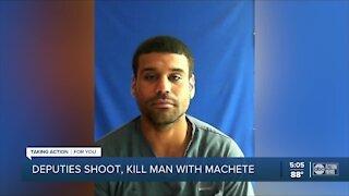 Machete-wielding man shot, killed in Polk County deputy-involved shooting