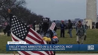 Valley man arrested in U.S. Capitol riot