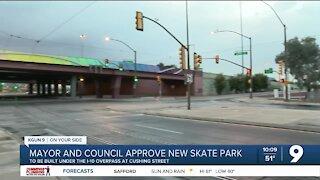 Tucson mayor, council approve new skate park