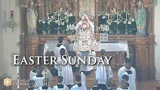 Holy Mass for Easter Sunday, April 4, 2021 (NO)