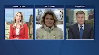 7 First Alert Forecast 5 p.m. Update, Monday, March 1