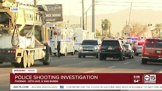 Person injured in shooting involving police in Phoenix
