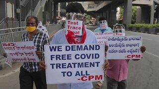 Coronavirus Cases Surge In U.S., India