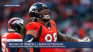 Broncos' Mike Purcell, locker room favorite and home-grown success story, lands 3-year extension