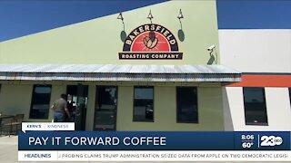 Kern's Kindness: Pay It Forward Coffee