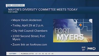 Fort Myers Mayor holds committee meeting