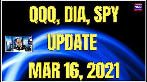 QQQ SPY DIA UPDATE MAR 16 | PRE-FOMC - Nik Nikam