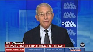Fauci: If Everyone Is Vaccinated You Can Enjoy The Holidays