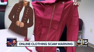 Online clothing scams to watch out