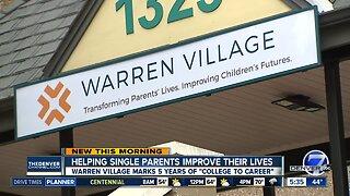 Warren Village helps single parents