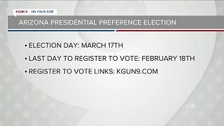 How to register to vote in the Arizona Presidential Primary