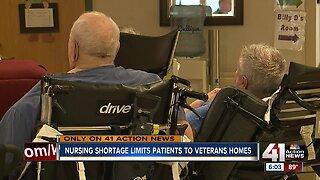 Missouri veteran homes deal with nursing shortage