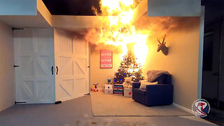 Devastating Effects of Christmas Tree Fires