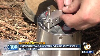 Earthquake warning system expands