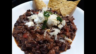 Delicious Hearty Beef Chili