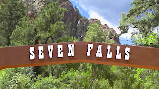Seven Falls, Colorado Springs, Colorado