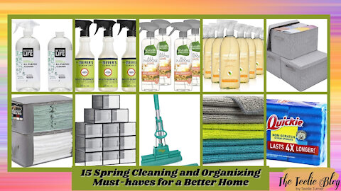 The Teelie Blog | 15 Spring Cleaning and Organizing Must-haves for a Better Home | Teelie Turner