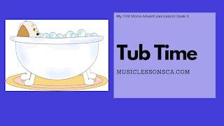 Piano Adventures Lesson Book B - Tub Time
