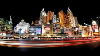 5 pm New Year's Eve traffic, weather conditions near the Las Vegas Strip