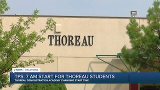 New, earlier start time for Thoreau Demonstration Academy students