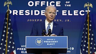 President-Elect Joe Biden Urges Americans To Wear Masks