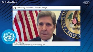 John Kerry pushes for the great reset, Biden gets sued, and more declassification.