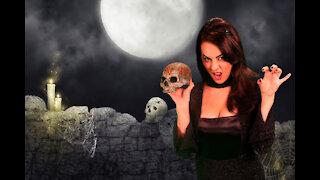 Burly Wizard Versus Beautiful Sorceress