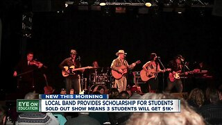 Local band provides music scholarships to Sweet Home High School students