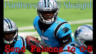 Panther Prowl Review Week 5 Panthers send Falcons to 0-5!