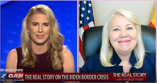 The Real Story - OAN Biden Border Crisis with Rep. Debbie Lesko