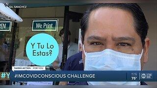 #IMCOVIDCONSCIOUS Challenge