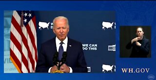 Biden: We Literally Have To Knock on Doors To Get People Vaccinated